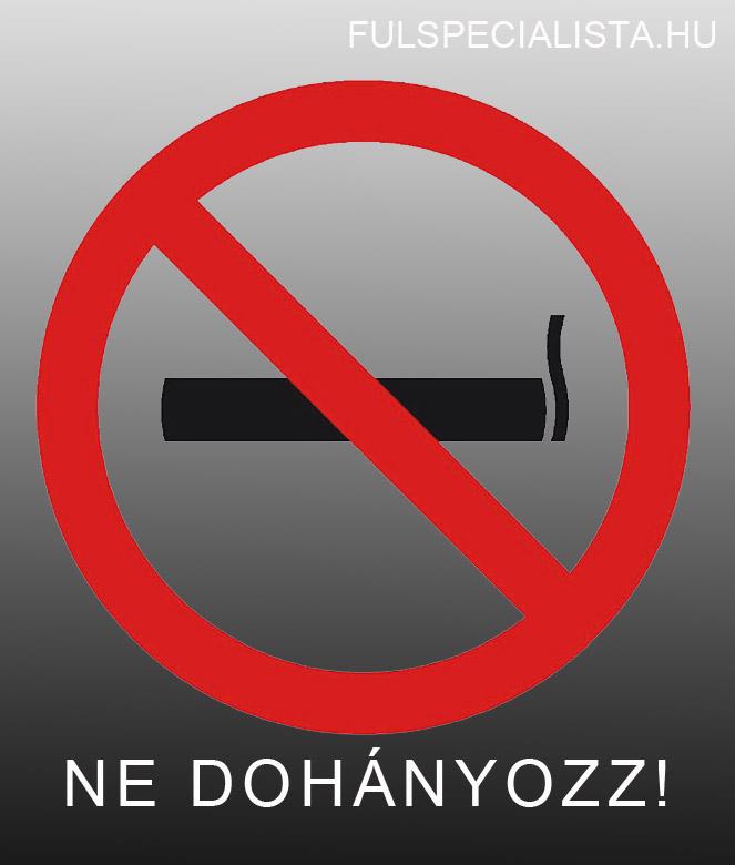 hagyja abba a dohányzás szövődményeit