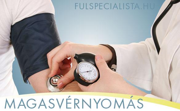 magas vérnyomás tinnitus kezelése
